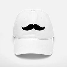 Cool Mustache Beard Baseball Baseball Cap