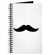 Cool Mustache Beard Journal