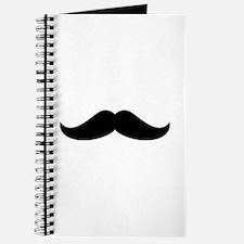 Cool Mustache Beard Journal