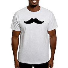 Cool Mustache Beard T-Shirt