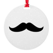 Cool Mustache Beard Ornament