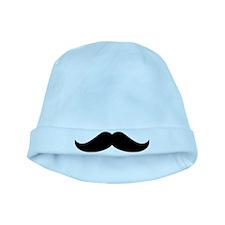 Cool Mustache Beard baby hat