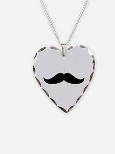 Cool Mustache Beard Necklace