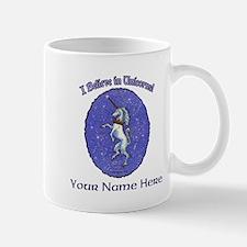 Unicorn Purple Glitter Personalize Mugs