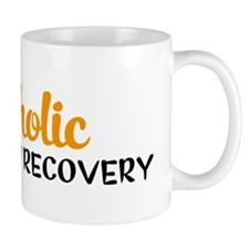 workaholic in recovery Mug