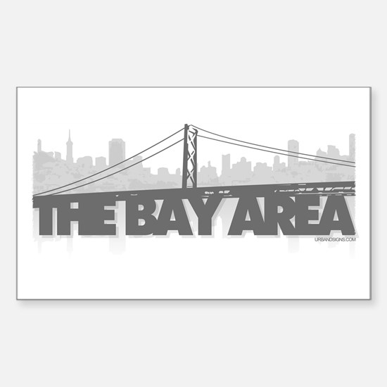 The Bay Area Rectangle Decal