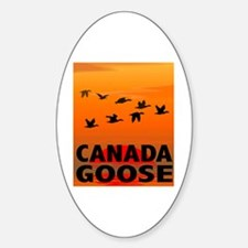 Canada Goose Oval Decal