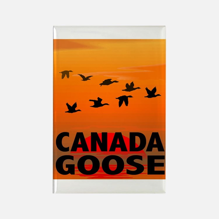 Canada Goose Rectangle Magnet