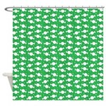 Candy Wrap Green Shower Curtain