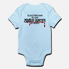 Zombie Hunter - Electrician Infant Bodysuit