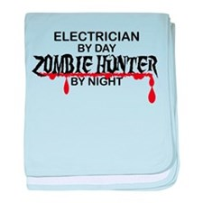 Zombie Hunter - Electrician baby blanket