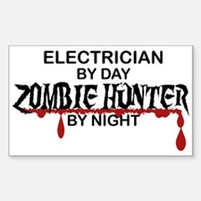 Zombie Hunter - Electrician Decal