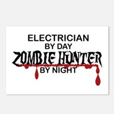 Zombie Hunter - Electrician Postcards (Package of