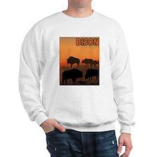Graphic Bison Sweatshirt