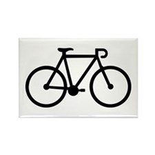 Bicycle bike Rectangle Magnet