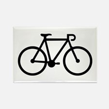 Bicycle bike Rectangle Magnet (10 pack)