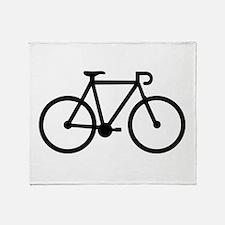 Bicycle bike Throw Blanket