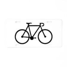 Bicycle bike Aluminum License Plate