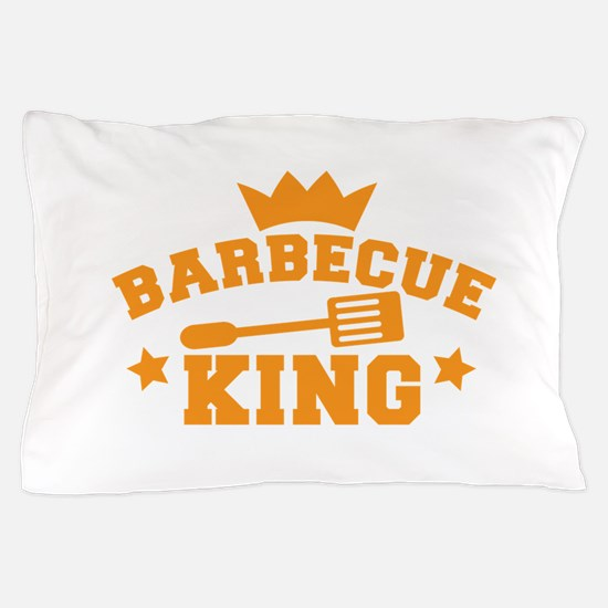 Barbecue KING with royal crown cooking apron Pillo