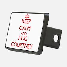 Keep Calm and Hug Courtney Hitch Cover