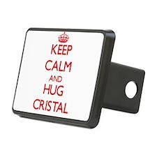 Keep Calm and Hug Cristal Hitch Cover