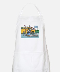 Male Bus Driver BBQ Apron