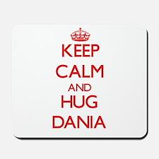 Keep Calm and Hug Dania Mousepad