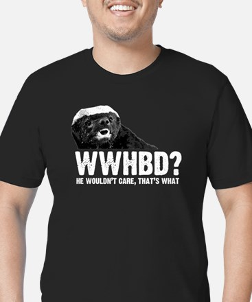 WWHBD Men's Fitted T-Shirt (dark)