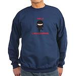 Ninja Cartographer Sweatshirt (dark)