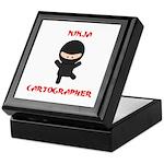 Ninja Cartographer Keepsake Box