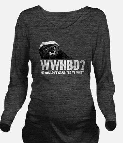 WWHBD Long Sleeve Maternity T-Shirt
