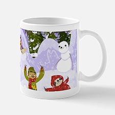 Sloth Snow Day Mugs