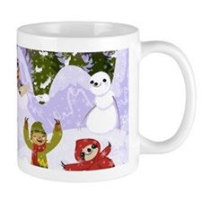 Sloth Snow Day Mugs