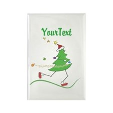 Customize Christmas Tree Runner Magnets