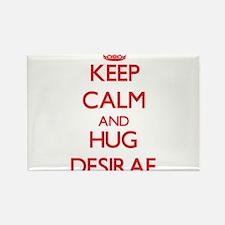 Keep Calm and Hug Desirae Magnets