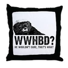 WWHBD Throw Pillow