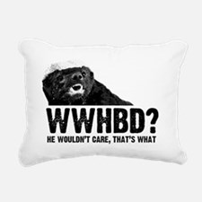 WWHBD Rectangular Canvas Pillow