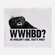 WWHBD Throw Blanket