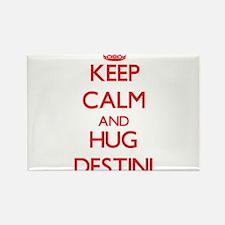 Keep Calm and Hug Destini Magnets