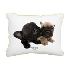 French Bulldog Rectangular Canvas Pillow