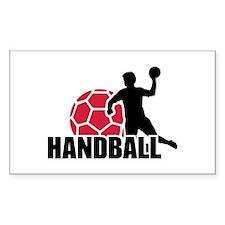 Handball player Decal