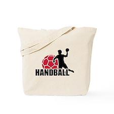Handball player Tote Bag