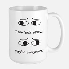 I See Book Plots - Mugs