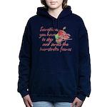 Two-Stroke Roses Hooded Sweatshirt