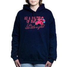 Ride Like a Girl - Snowm Women's Hooded Sweatshirt