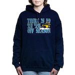 No Off Season Snowmobiling Hooded Sweatshirt