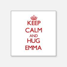 Keep Calm and Hug Emma Sticker