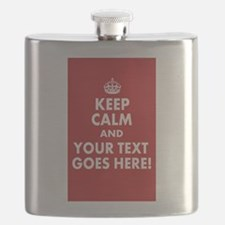 KEEP CALM AND YOUR MESSAGE! Flask