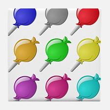 Lollipops Tile Coaster