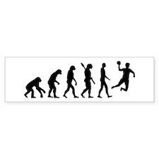 Evolution Handball Bumper Sticker